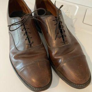 Allen Edmonds park avenue cap-toe Oxford shoes